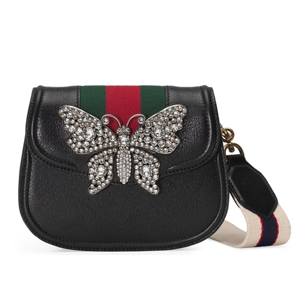 8218fd537ee New Authentic Gucci Linea Totem Crystal Bag